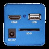 Camera, HDMI/USB-mouse, SD card_