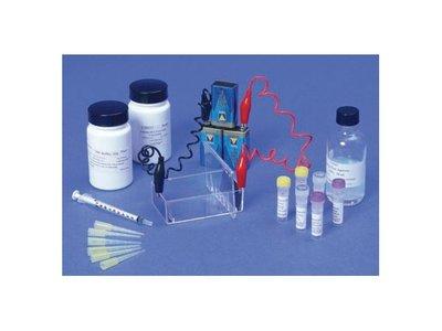 Elektroforese kleurstoffen, complete kit, 3 proeven