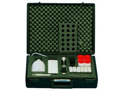 Koffer voor chemisch bodemonderzoek
