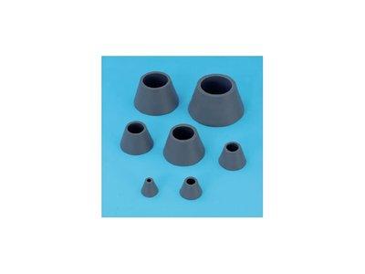 Afzuigring rubber, 7 stuks