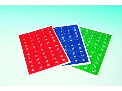 Kaartnummers blauw 101-150