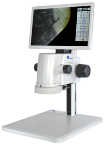 Smartscope inspection system with screen